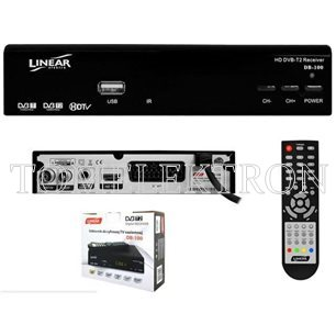 TUNER DVB-T-2 TV LINEAR DB-100