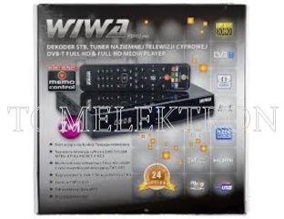 TUNER DVB-T TV WIWA HD102 MEMO